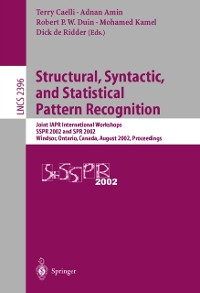 Cover Structural, Syntactic, and Statistical Pattern Recognition
