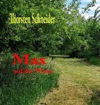Cover Max auf der Wiese