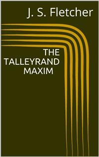 Cover The Talleyrand Maxim