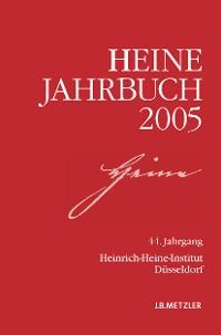 Cover Heine-Jahrbuch 2005