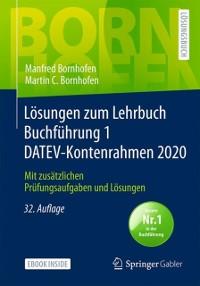 Cover Losungen zum Lehrbuch Buchfuhrung 1 DATEV-Kontenrahmen 2020