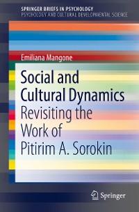 Cover Social and Cultural Dynamics