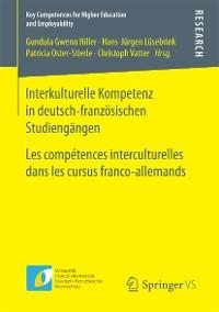 Cover Interkulturelle Kompetenz in deutsch-französischen Studiengängen