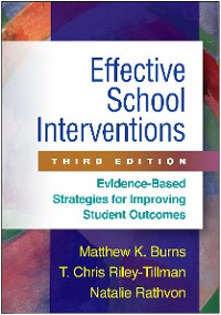 Cover Effective School Interventions, Third Edition