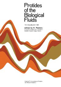 Cover Protides of the Biological Fluids