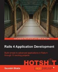 Cover Rails 4 Application Development HOTSHOT