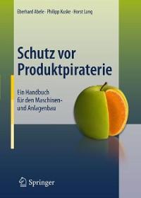 Cover Schutz vor Produktpiraterie