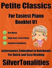 Cover Petite Classics for Easiest Piano Booklet U1