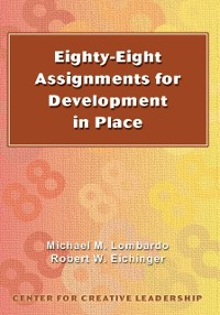 Cover Eighty-Eight Assignments for Development in Place