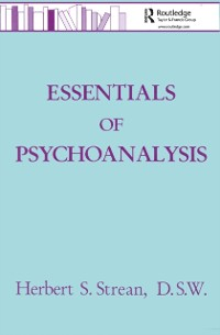 Cover Essentials Of Psychoanalysis
