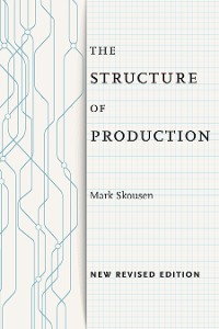 Cover The Structure of Production