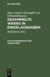 Cover Das wunderbarliche Vogel-Nest