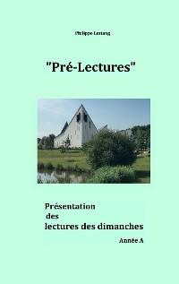 Cover Pré-lectures A