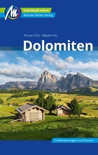 Cover Dolomiten Reiseführer Michael Müller Verlag