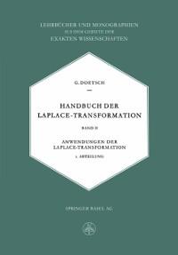 Cover Handbuch der Laplace-Transformation