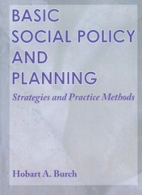 Cover Basic Social Policy and Planning