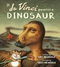 Cover If da Vinci Painted a Dinosaur