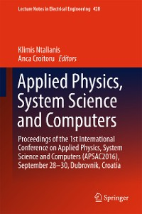 Cover Applied Physics, System Science and Computers