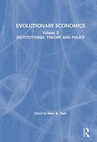 Cover Evolutionary Economics: v. 2