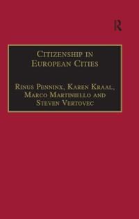 Cover Citizenship in European Cities