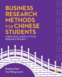 Cover Business Research Methods for Chinese Students