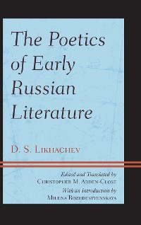Cover The Poetics of Early Russian Literature