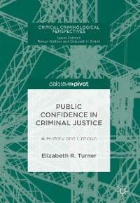 Cover Public Confidence in Criminal Justice