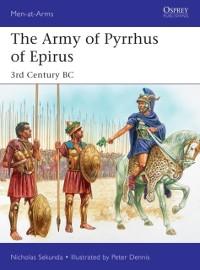 Cover Army of Pyrrhus of Epirus