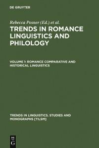 Cover Romance Comparative and Historical Linguistics
