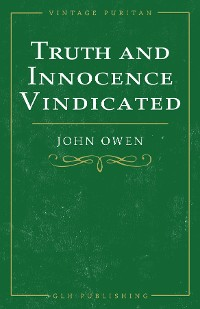 Cover Truth and Innocence Vindicated