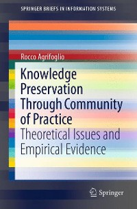 Cover Knowledge Preservation Through Community of Practice