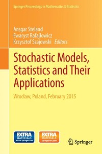 Cover Stochastic Models, Statistics and Their Applications
