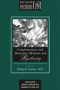Cover Complementary and Alternative Medicine and Psychiatry
