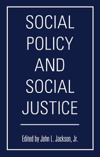 Cover Social Policy and Social Justice