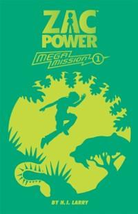 Cover Zac Power Mega Mission #1