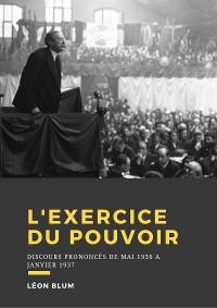 Cover L'exercice du pouvoir