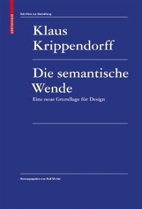 Cover Die semantische Wende