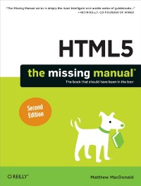 Cover HTML5: The Missing Manual