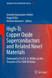 Cover High-Tc Copper Oxide Superconductors and Related Novel Materials