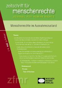 Cover Menschenrechte im Ausnahmezustand