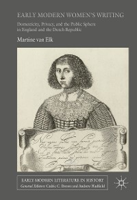 Cover Early Modern Women's Writing