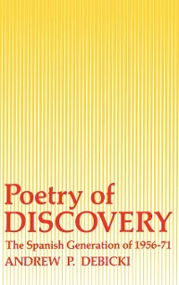 Cover Poetry Of Discovery