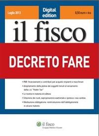 Cover Decreto Fare