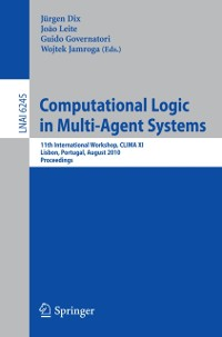 Cover Computational Logic in Multi-Agent Systems