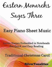 Cover Eastern Monarchs Sages Three Easy Piano Sheet Music