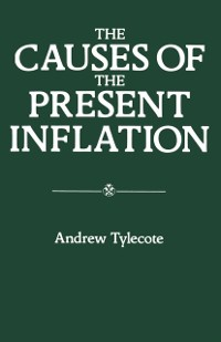 Cover Causes of the Present Inflation