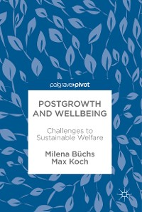 Cover Postgrowth and Wellbeing