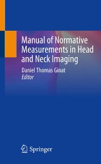 Cover Manual of Normative Measurements in Head and Neck Imaging