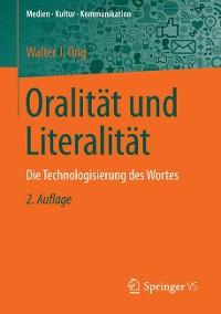 Cover Oralität und Literalität