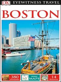 Cover DK Eyewitness Travel Guide Boston